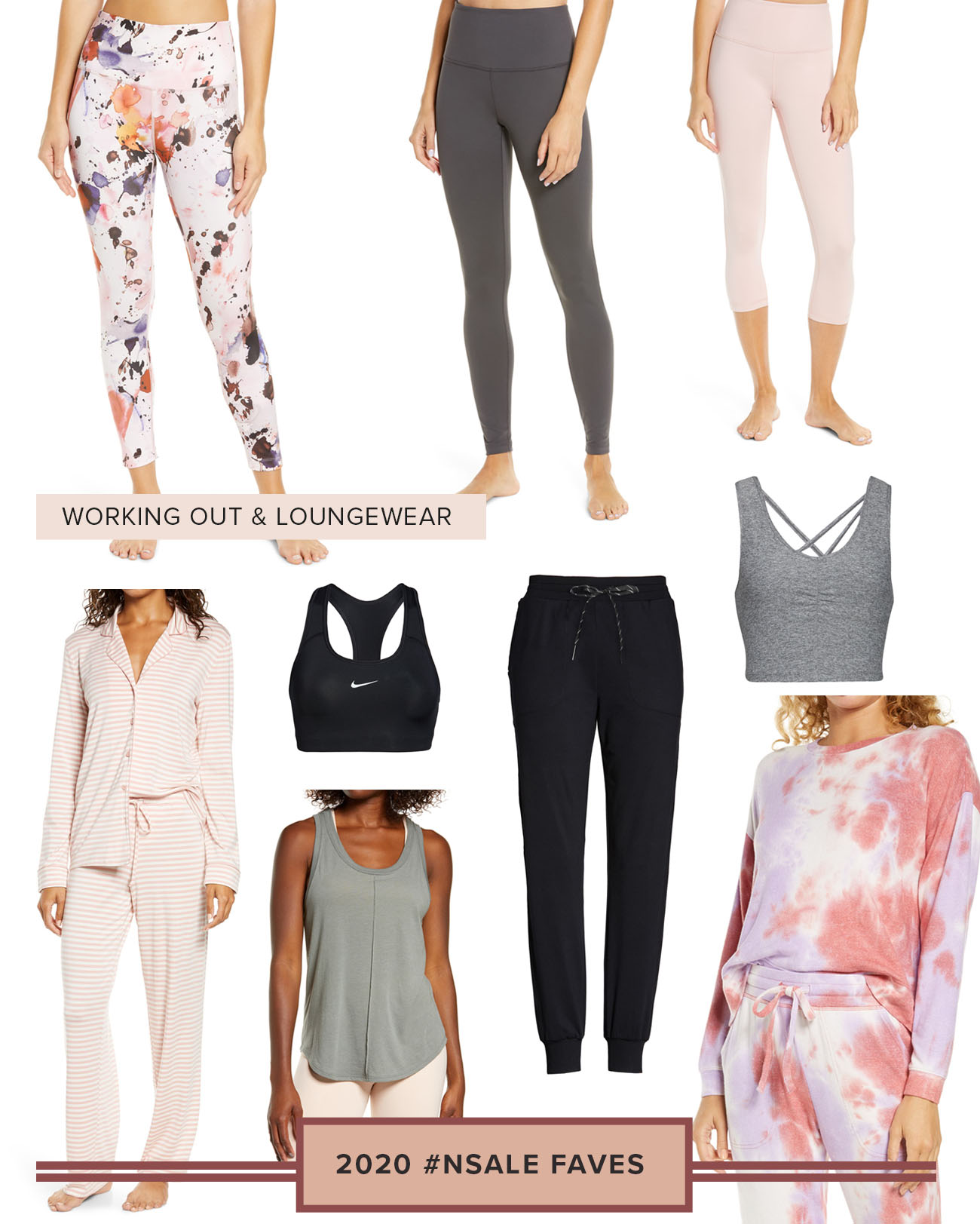 2020 Nordstrom Sale Favorites for Working Out