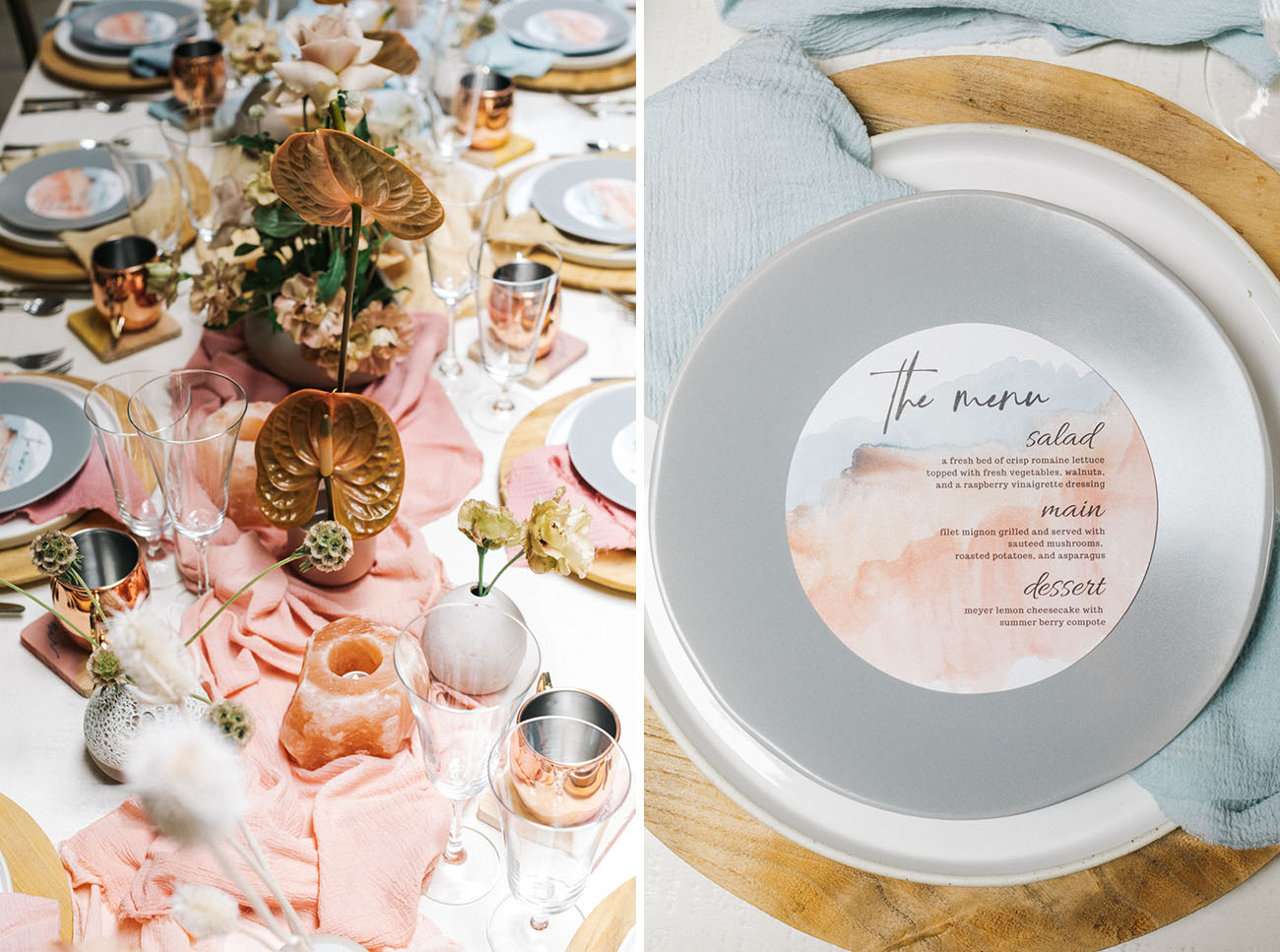 Ombre Micro Wedding Inspiration