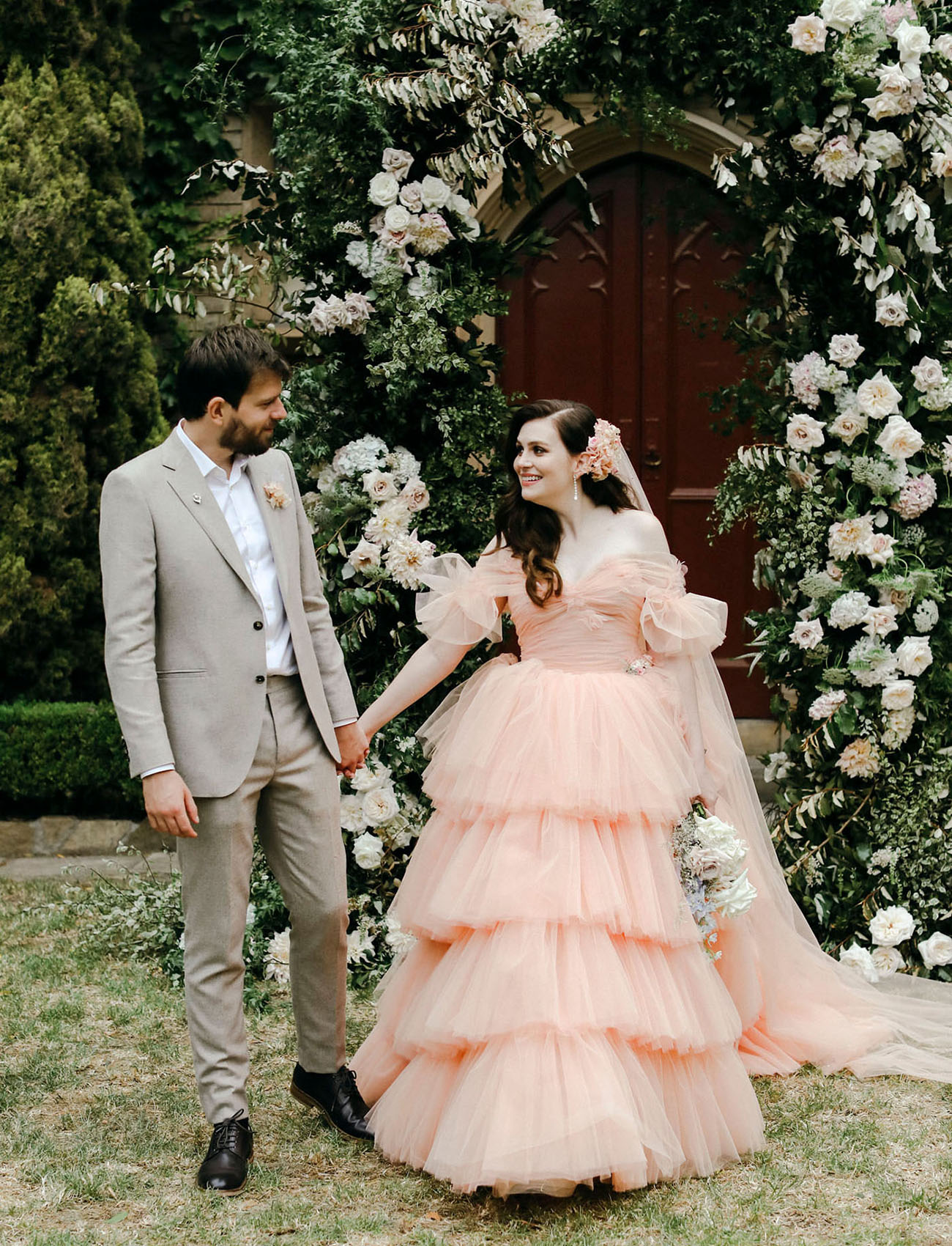 Magical Garden Wedding in Australia