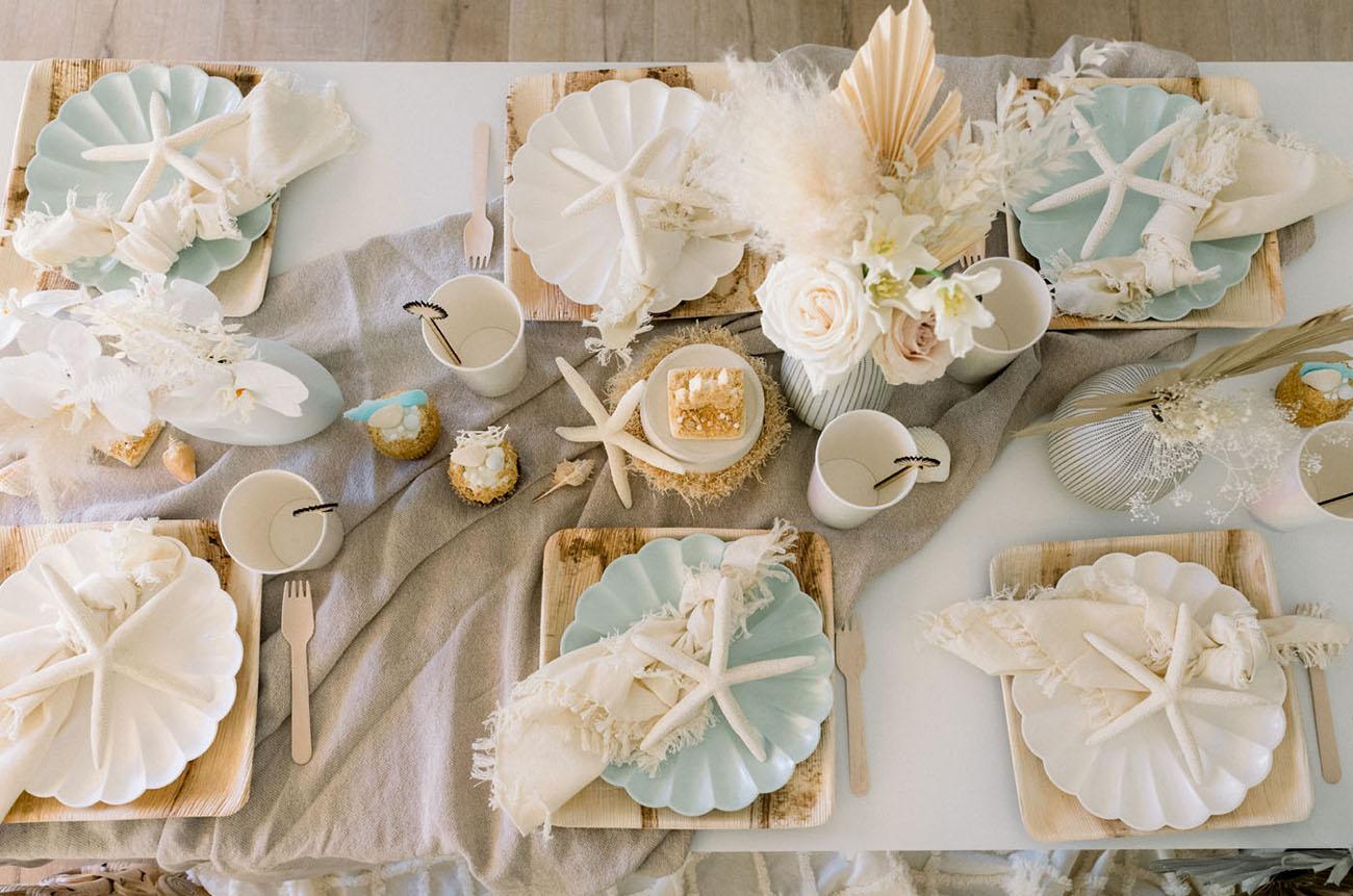 starfish plate setting