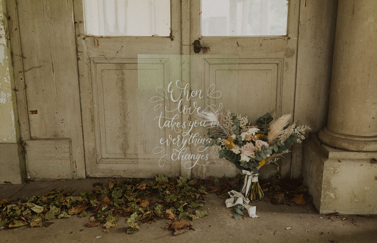 Olive + Ivory in this Boho Vintage Swiss Castle Elopement