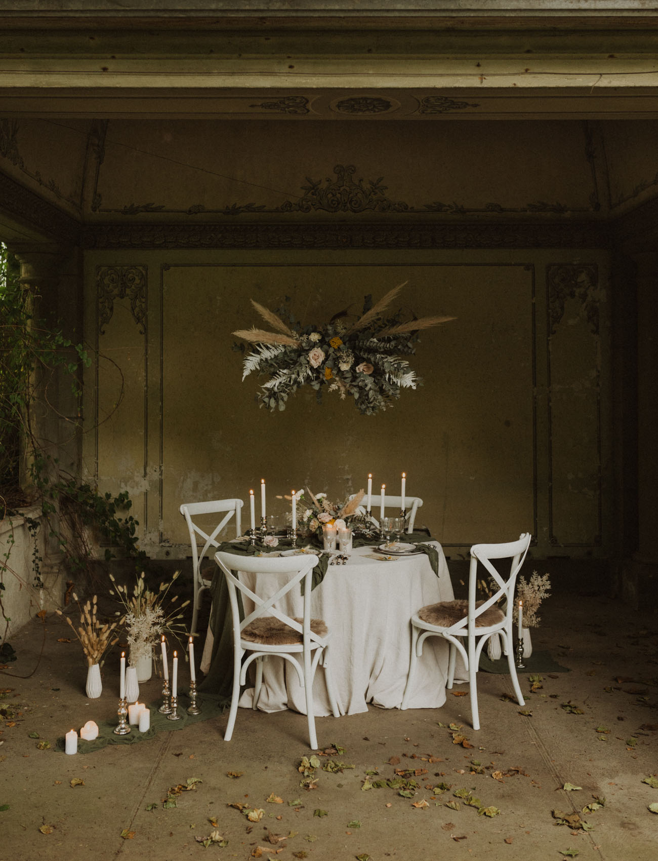 Boho Swiss Castle Inspiration
