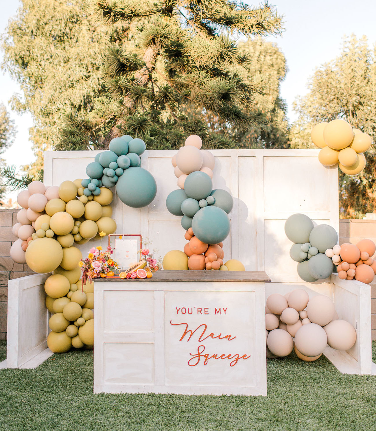 Tutti Fruitti Inspired Bridal Shower