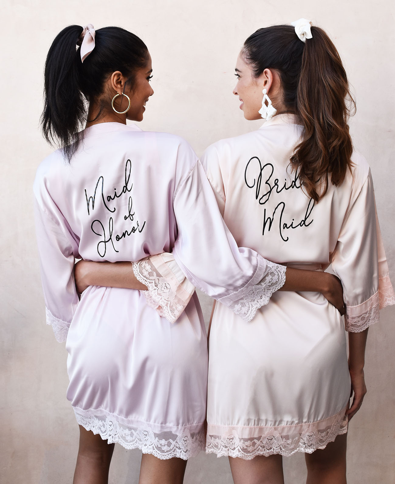 Personalized Bridesmaid Gifts Robes And Pajamas From Wedding Favorites