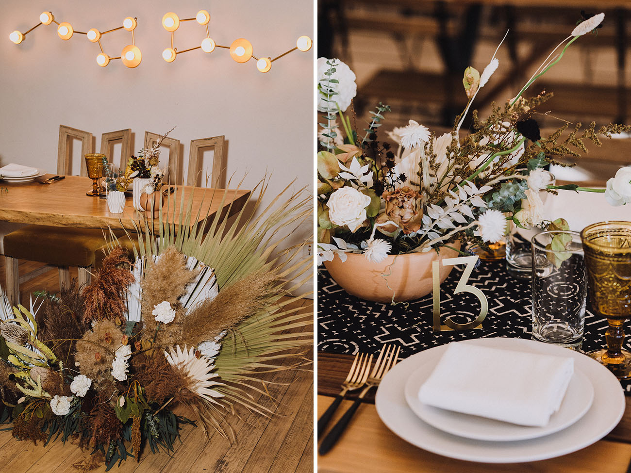 Boho Modern Los Angeles Wedding