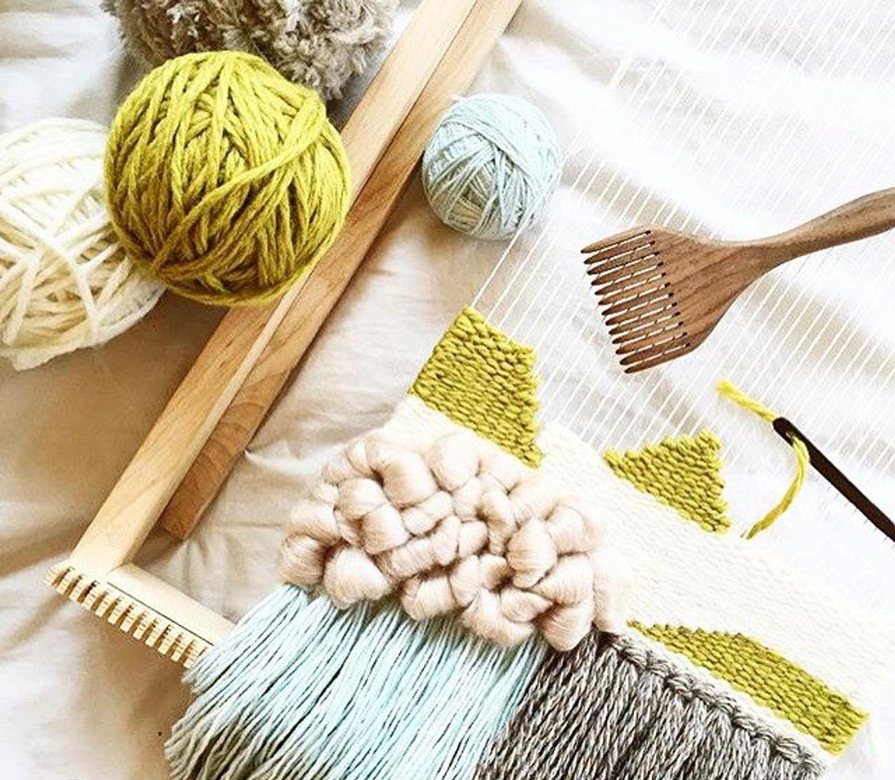 beginner weaving kit DIY