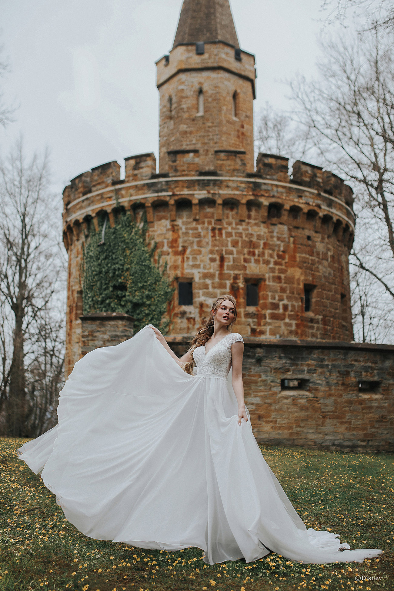 Rapunzel Wedding Dress by Allure Bridals