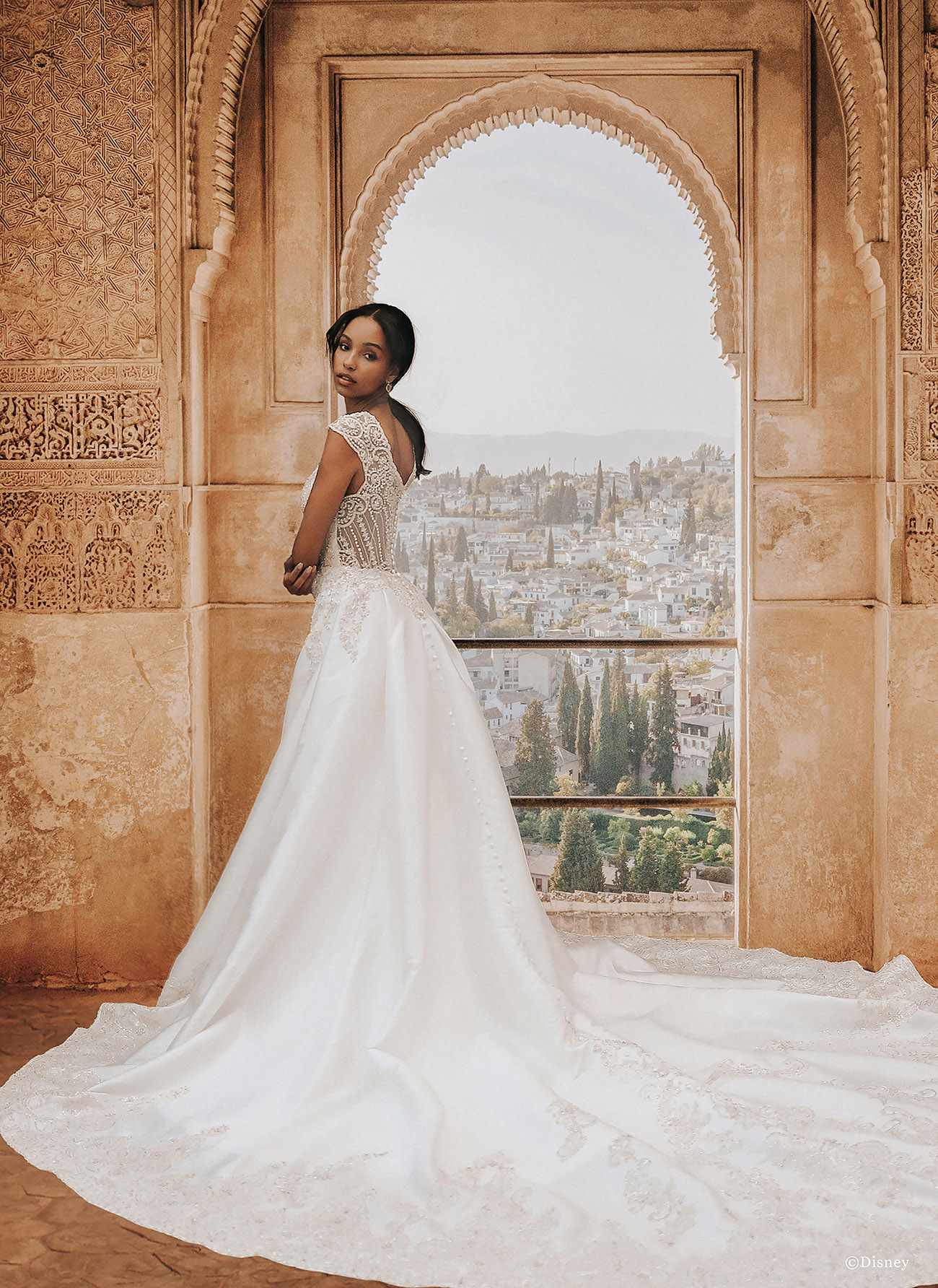 Princess Jasmine Wedding Dress from Allure Bridals