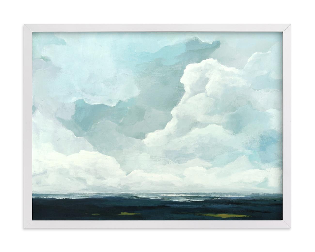 cloud wall art