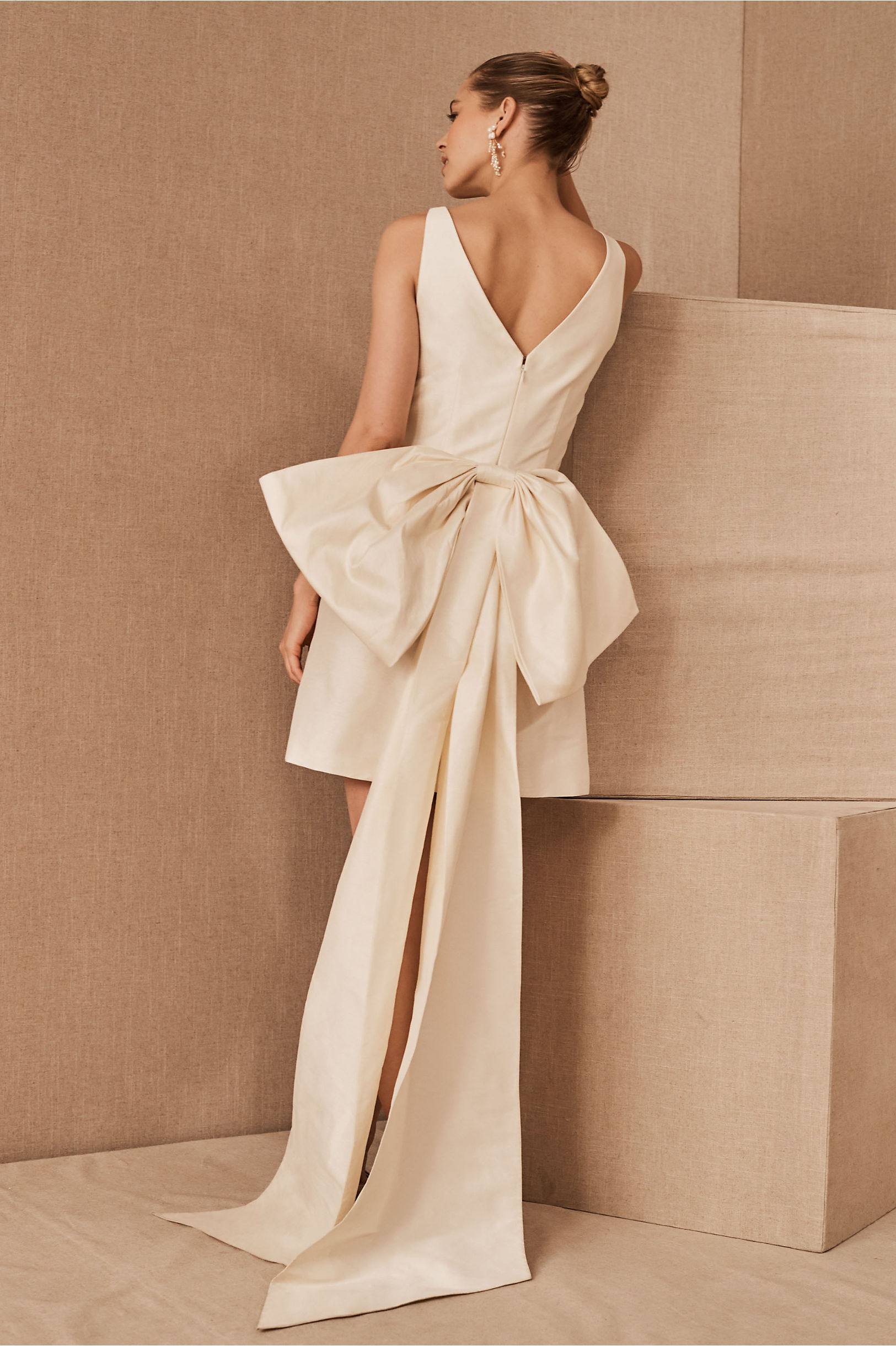 bhldn short wedding dress