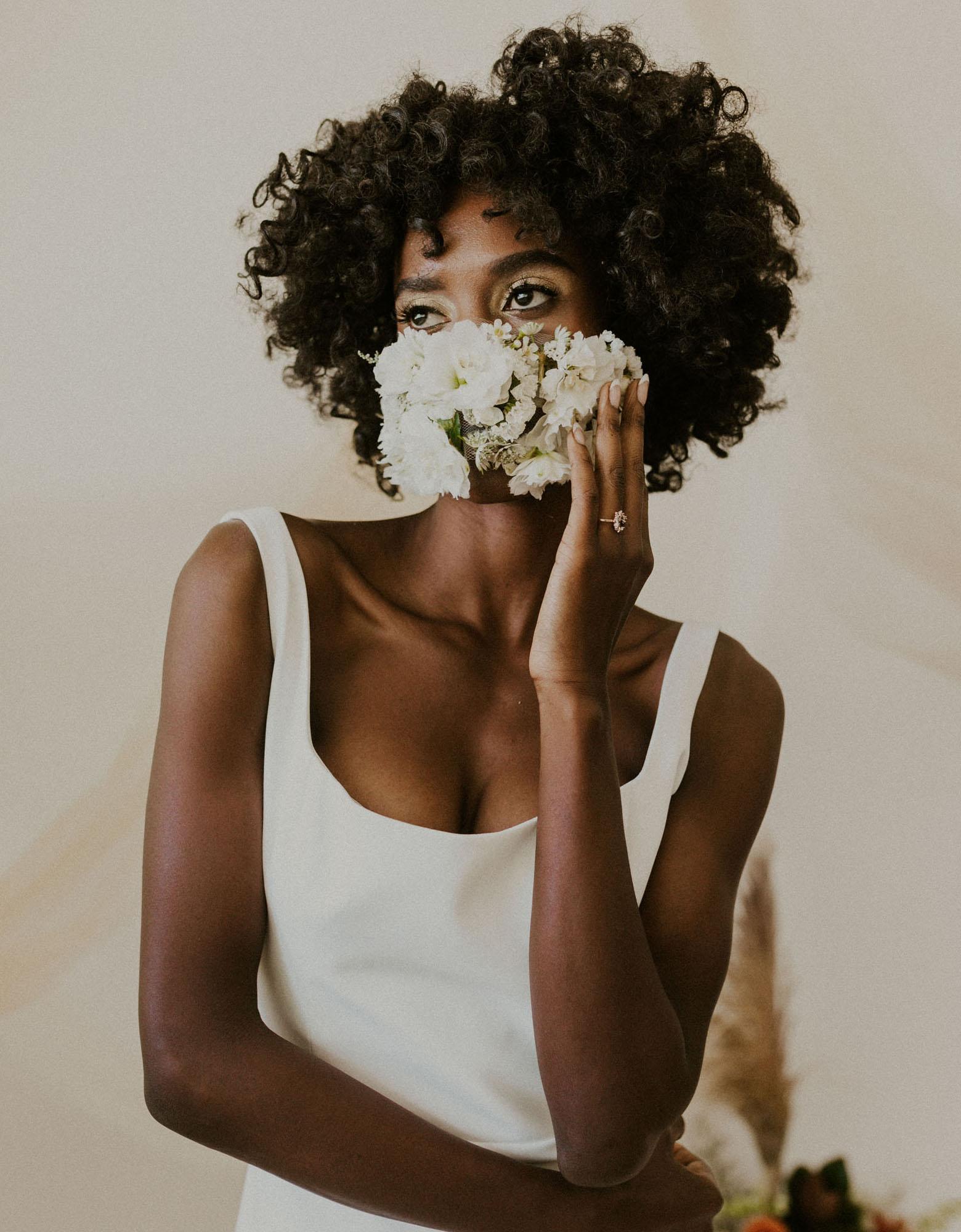 Floral Face Mask Inspiration