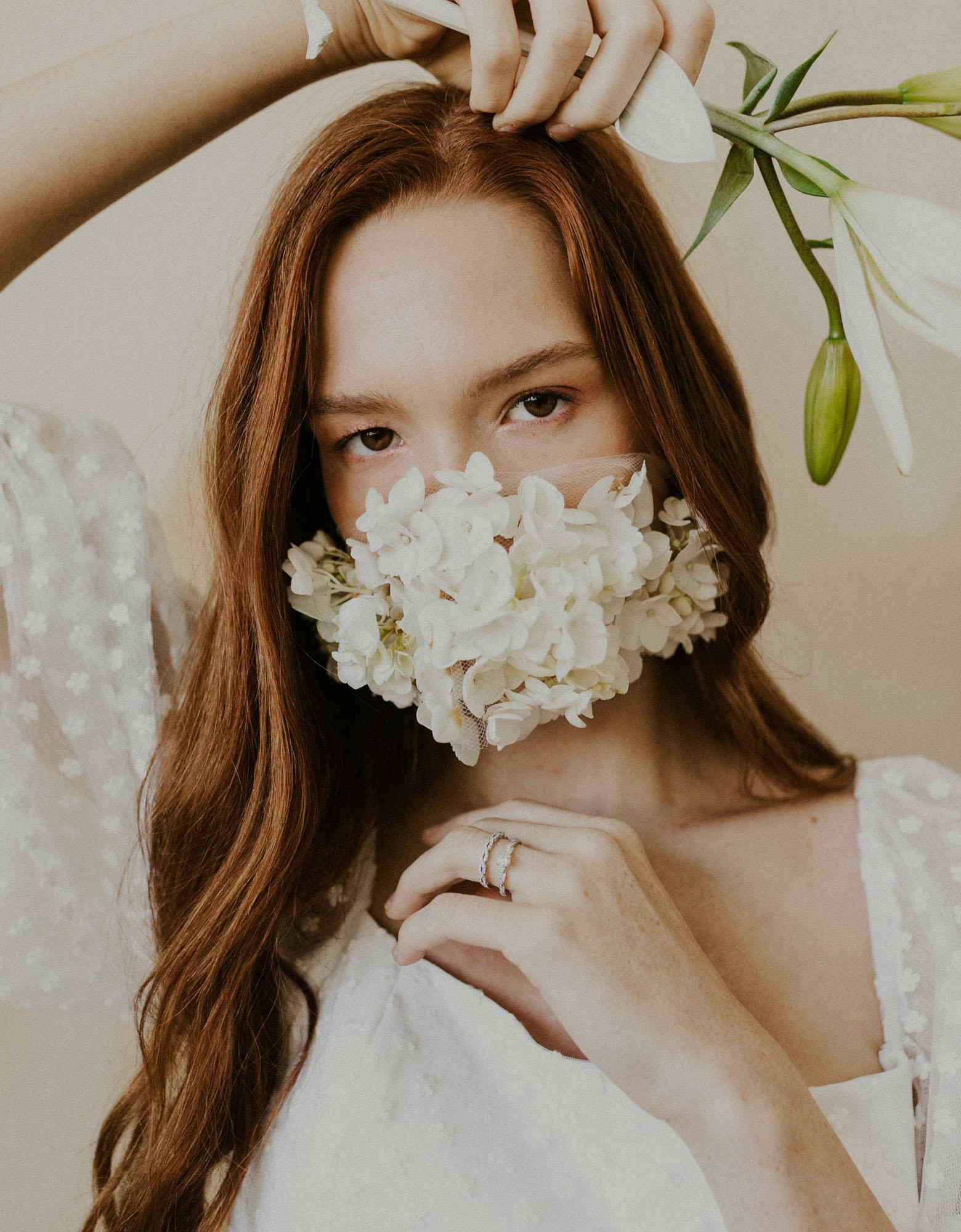 Inspiration de masque floral
