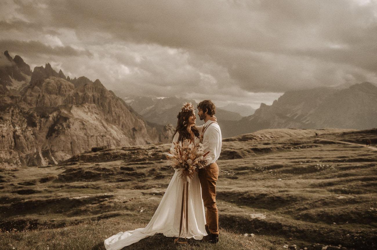 Dolomites Elopement Inspiration