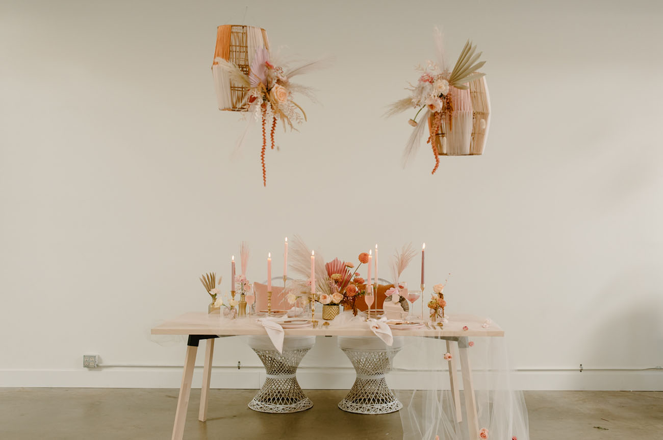 Inspiration for the end of summer wedding