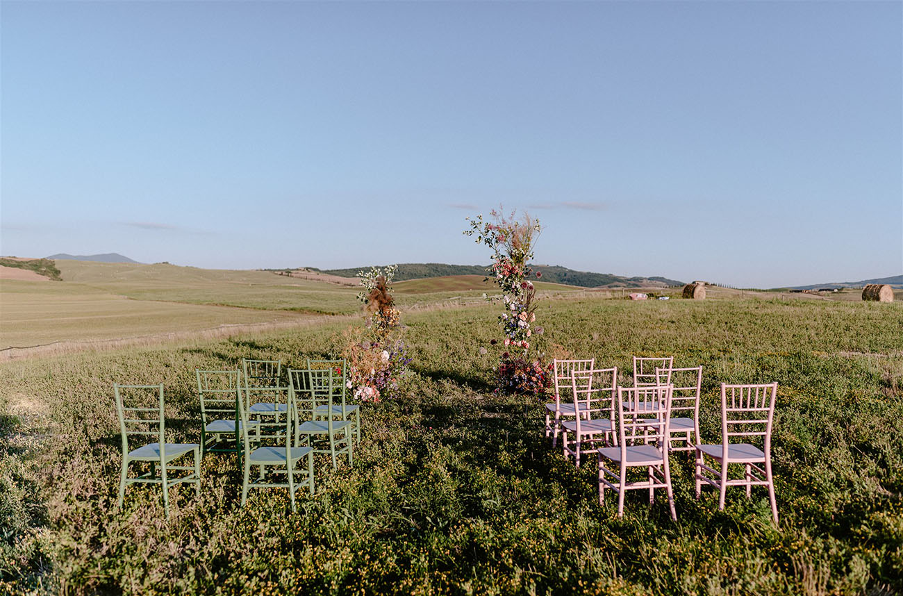 Tuscan Summer Wedding Inspiration