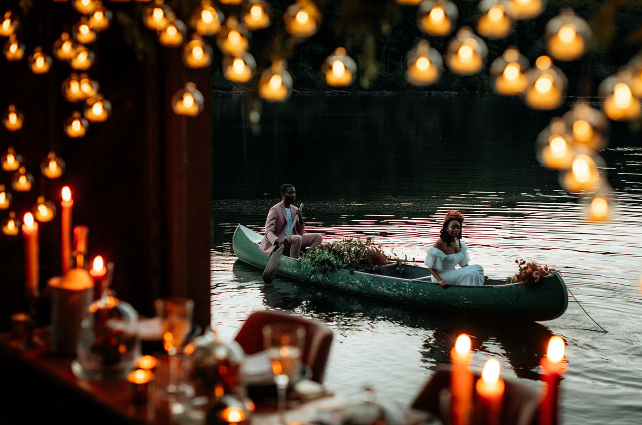 Magical Intimate Wedding Inspiration