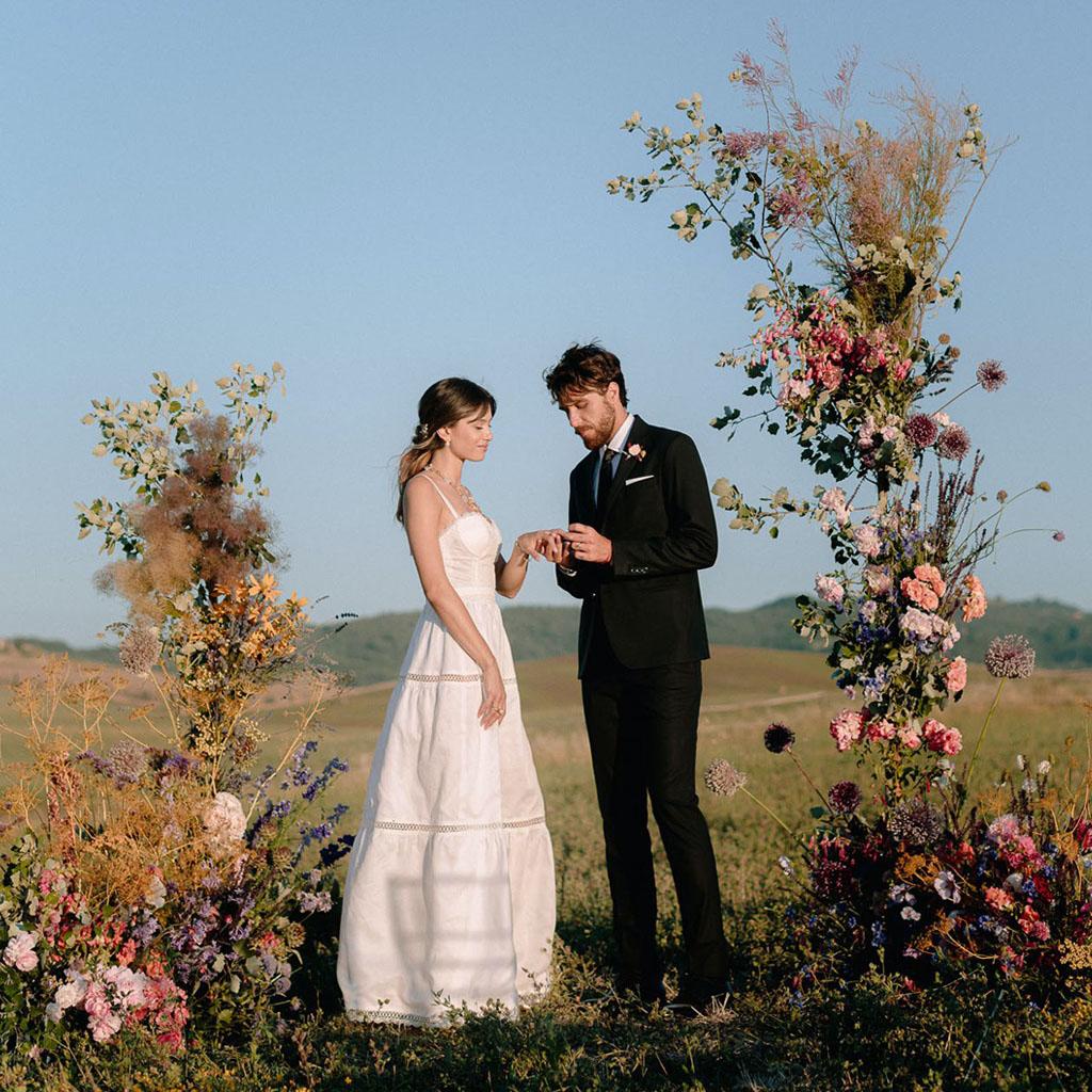 outdoor Italy Tuscany Wedding