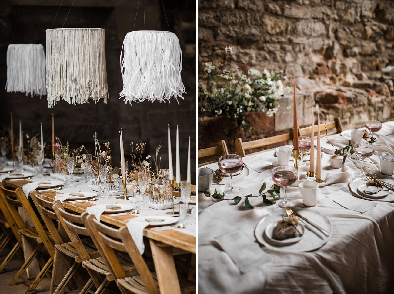 Medieval Monastery Wedding Inspiration