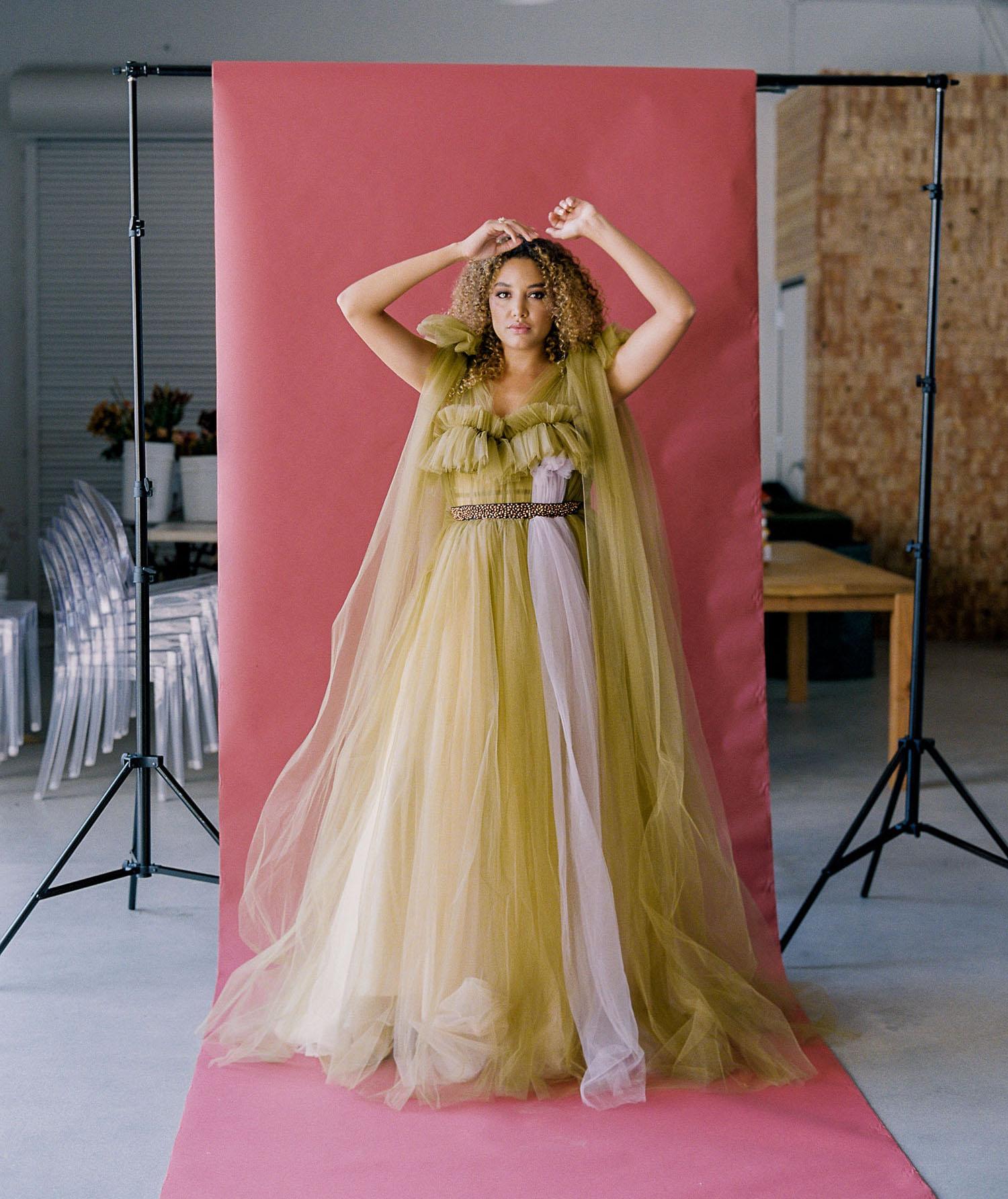 Elizabeth Dye Wedding Dress