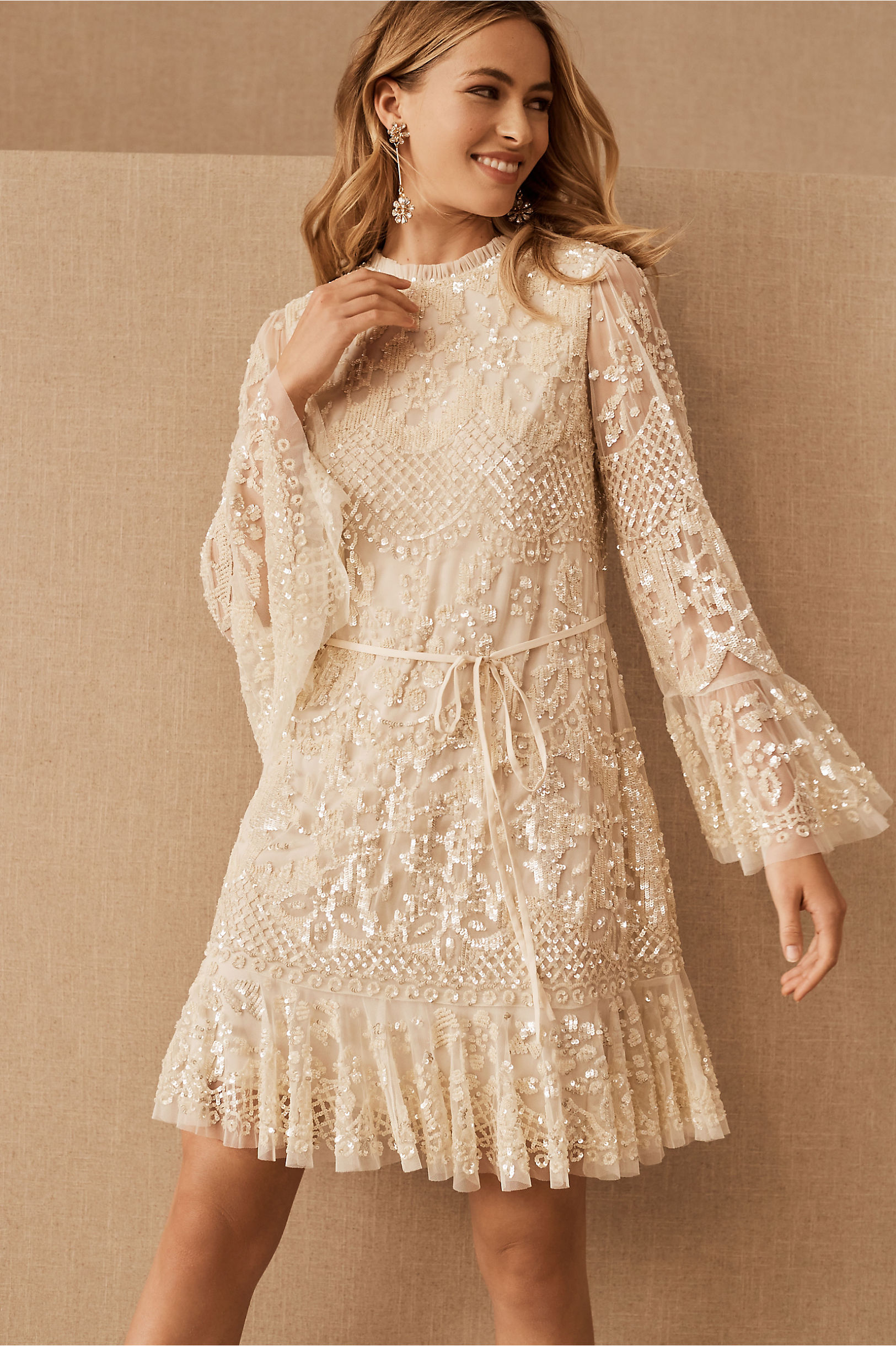 needle and thread short dress