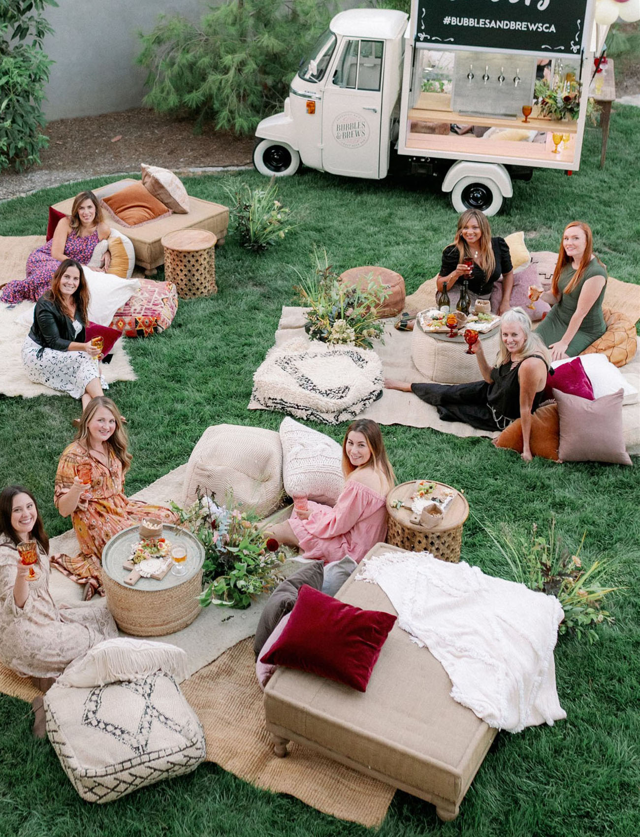 Outdoor Movie Night for the Ladies