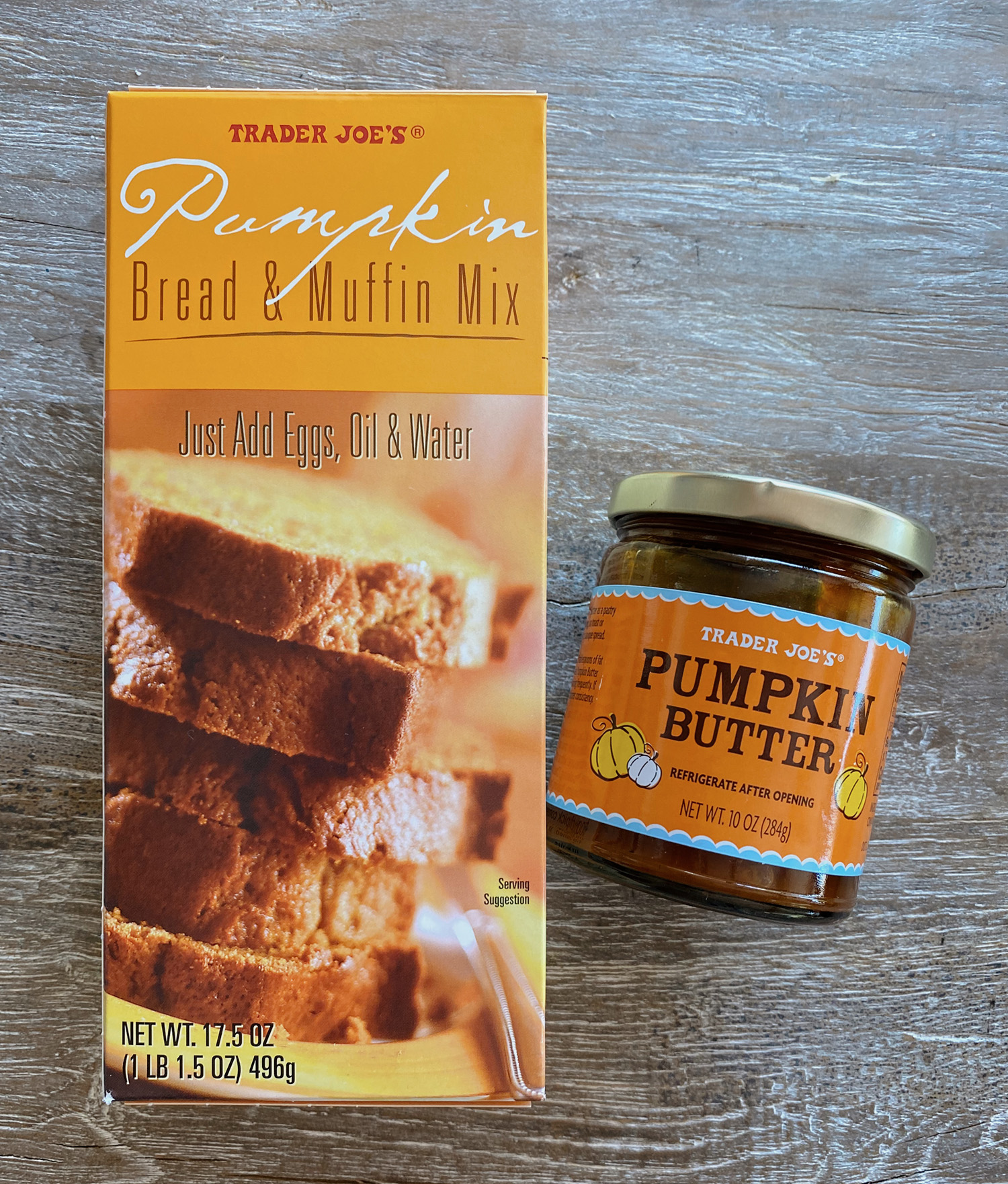Trader Joe's Pumpkin Bread and Muffin Mix