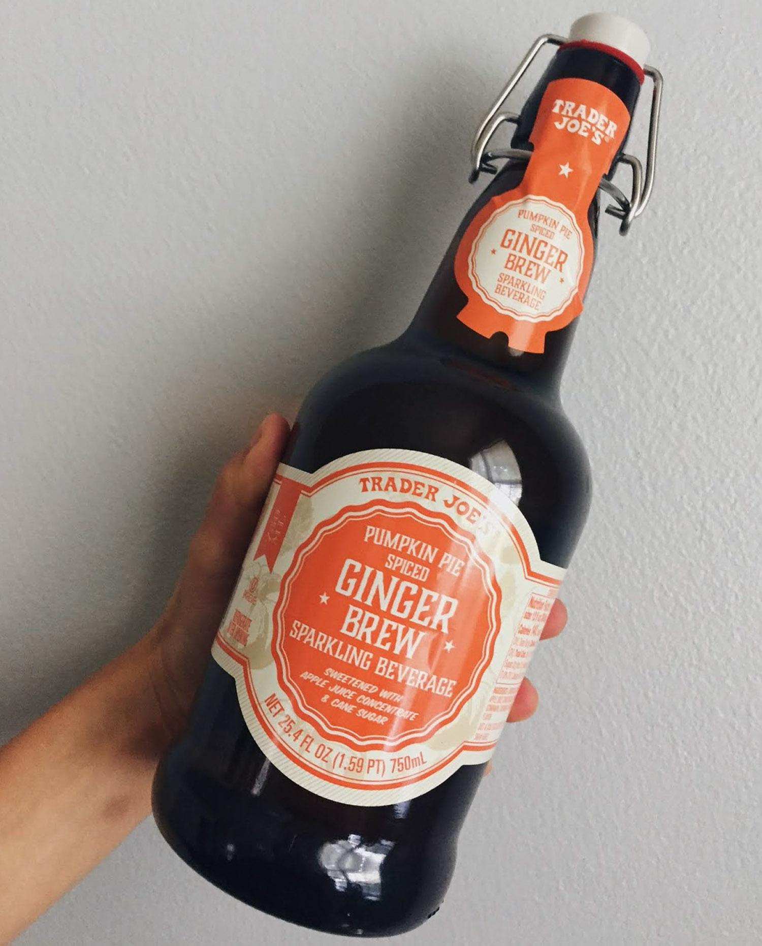 Pumpkin Spiced Ginger Brew