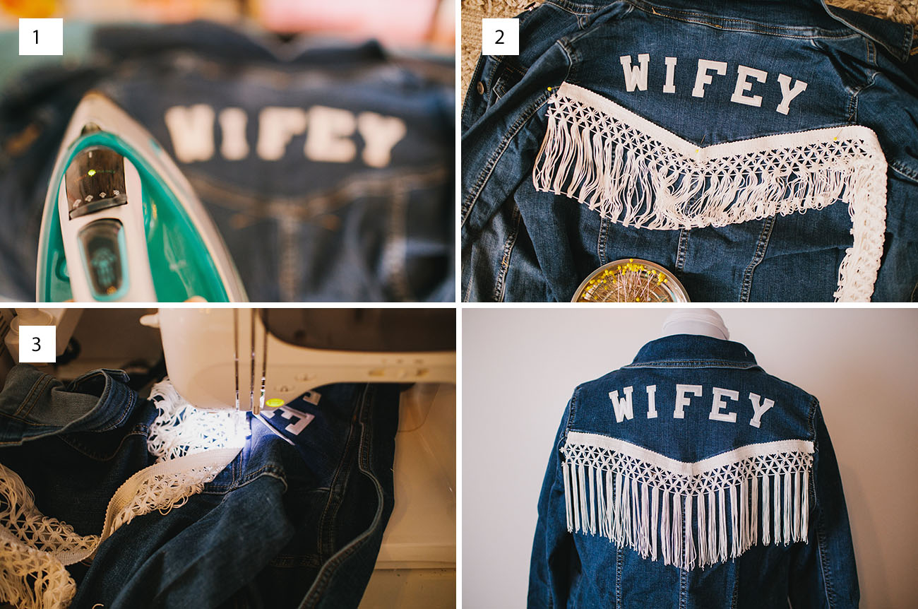 DIY Fringe Jacket