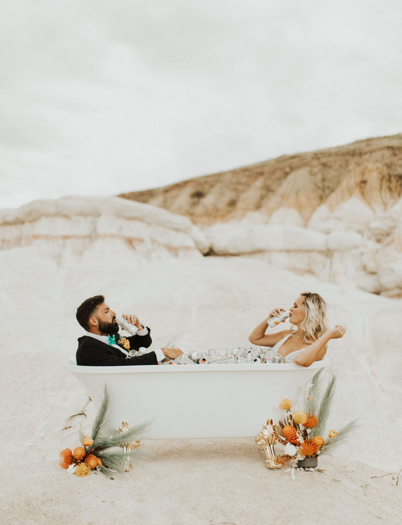 White Claw Wedding Inspiration