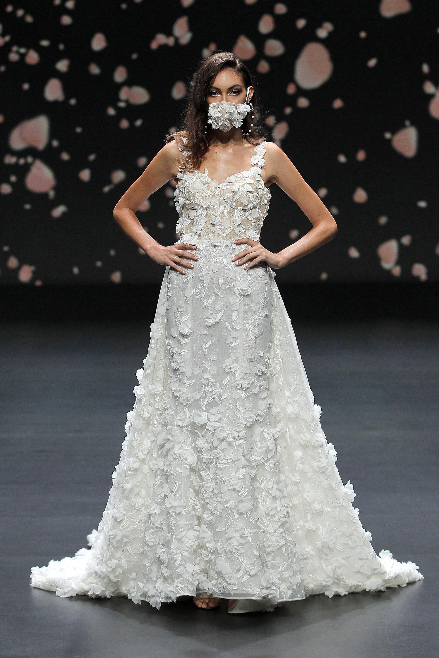 bridal face mask