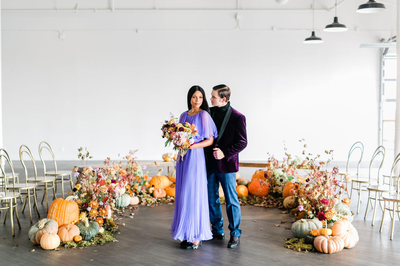 Fairytale pumpkin ceremony