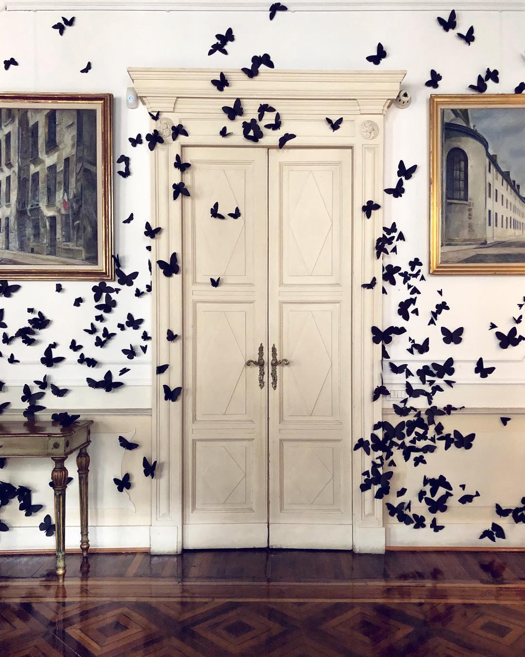 Halloween Schmetterlinge