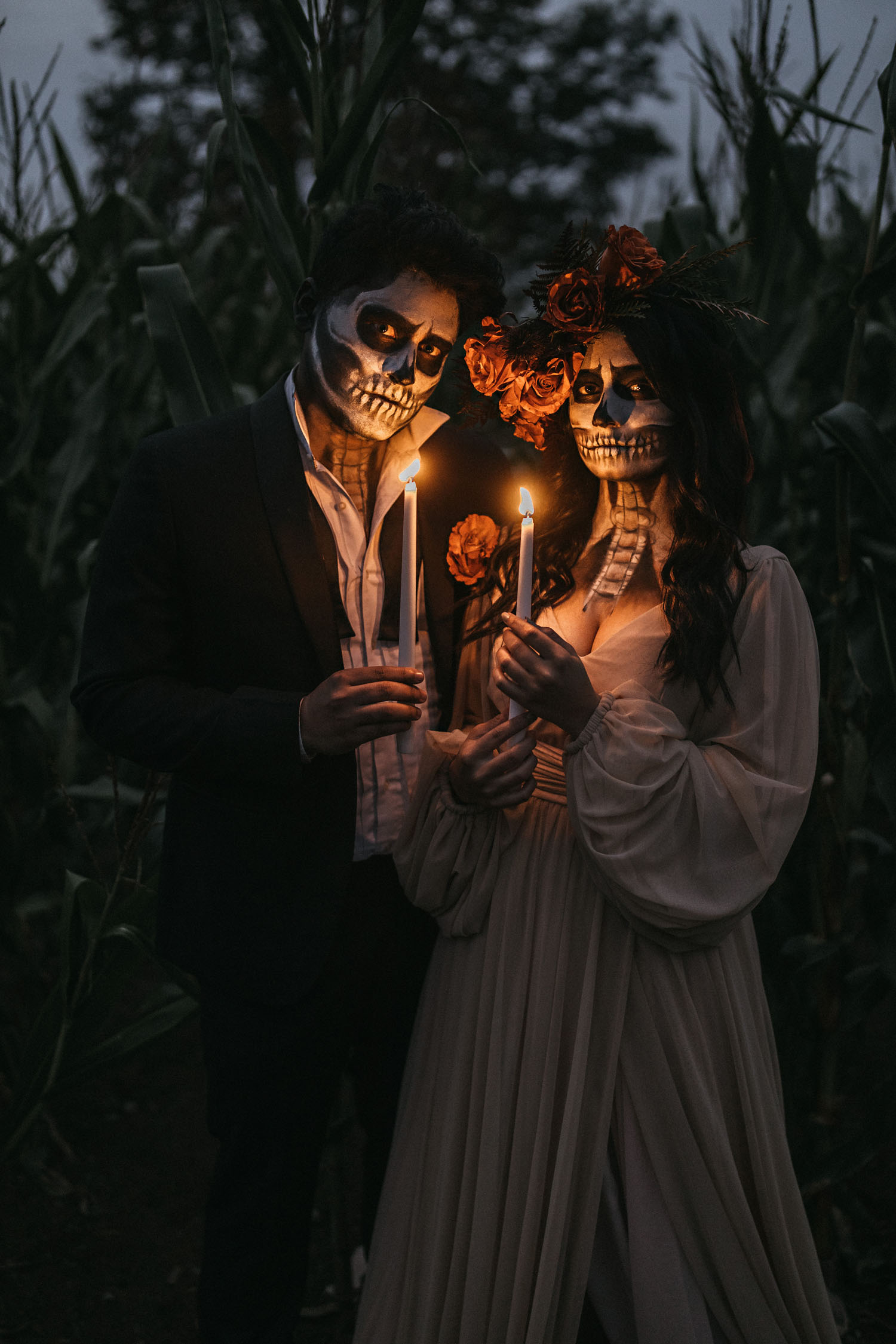 Skeleton Bridal Shoot