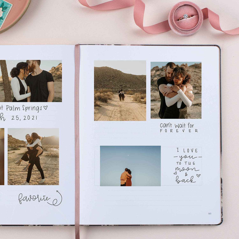 GWS x Erin Condren Wedding Planner - Scrapbook Page