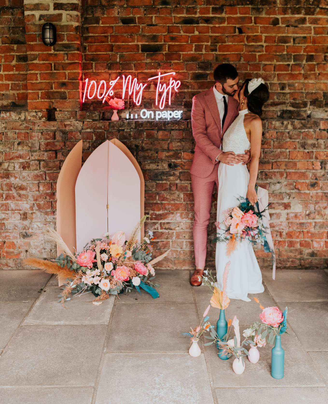 Modern Colorful Wedding Inspiration