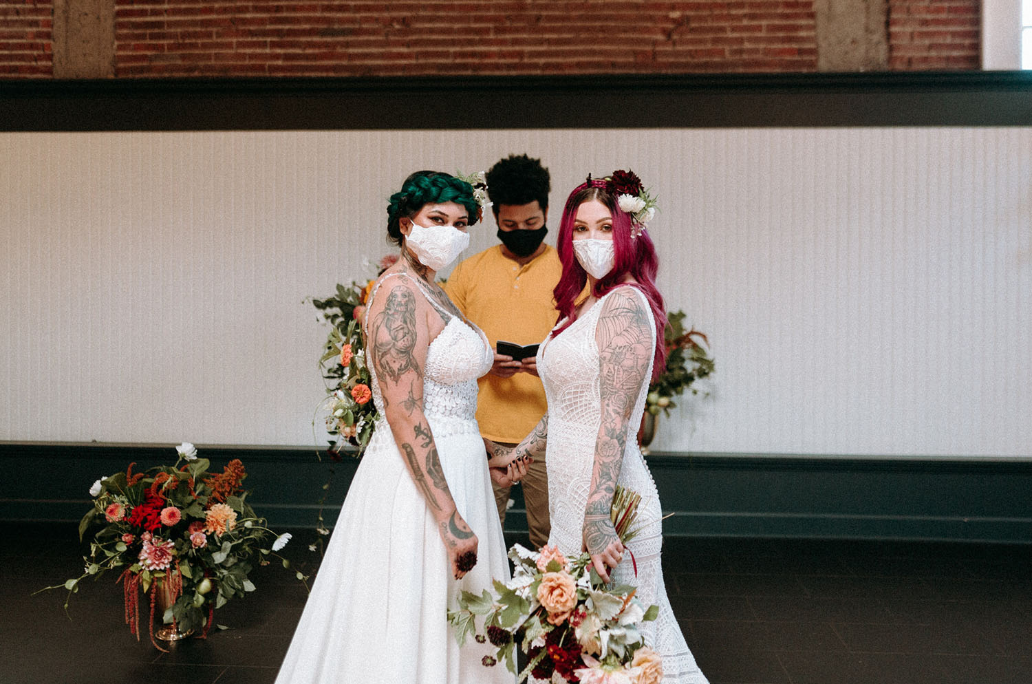 bridal masks