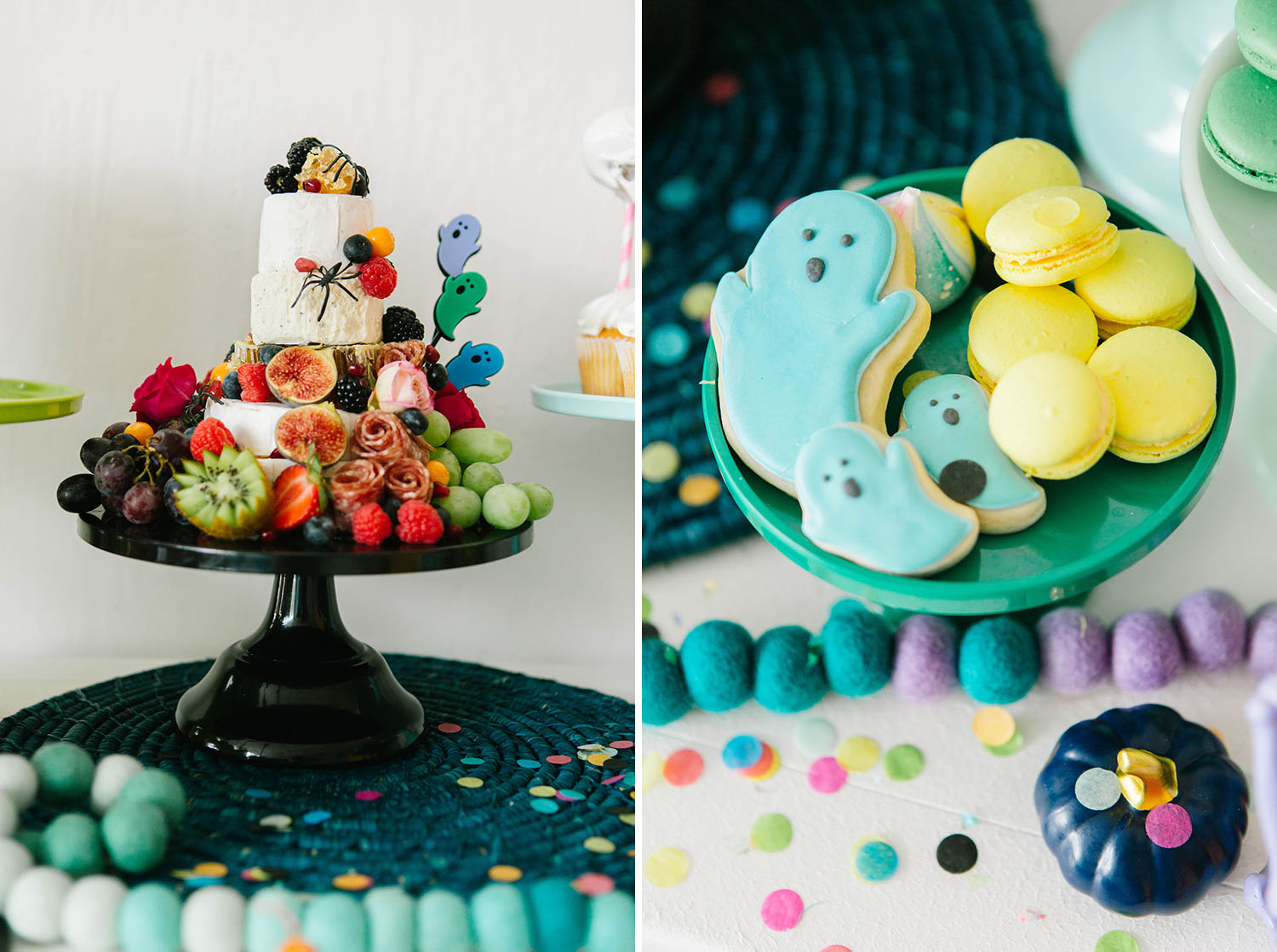 Rainbow Halloween Party Inspiration