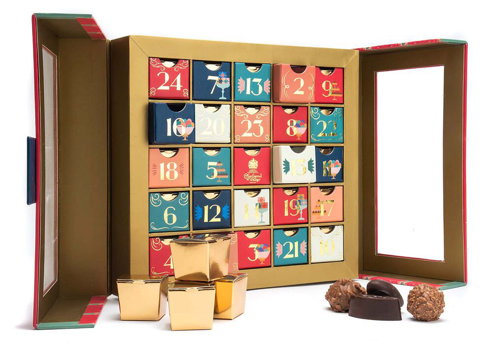 sure la table advent calendar
