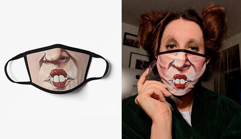 Hokuspokus Gesichtsmaske
