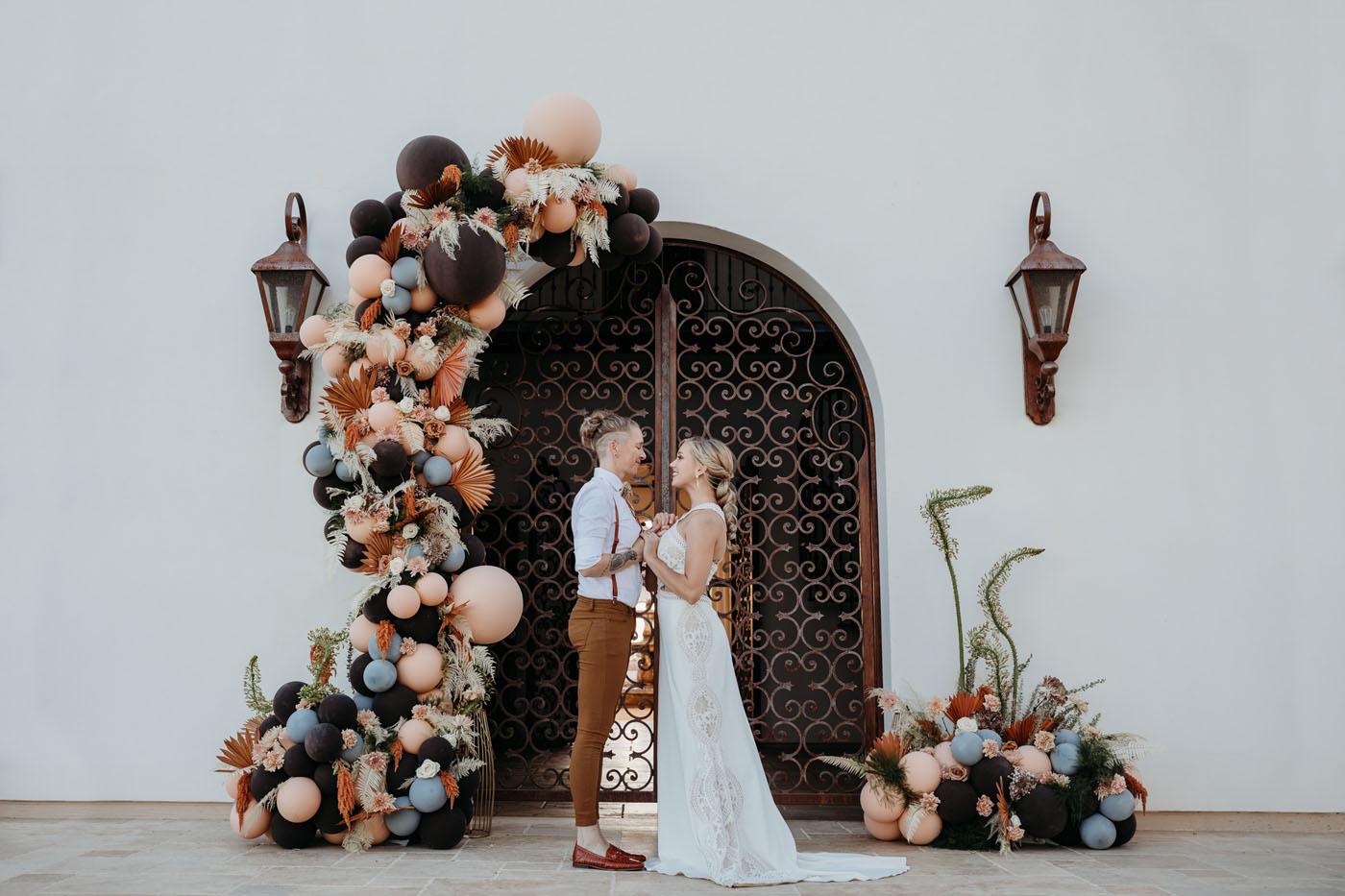 Modern Desert Nor Cal Wedding Inspiration