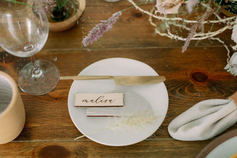 Minimalist Boho Wedding Inspiration