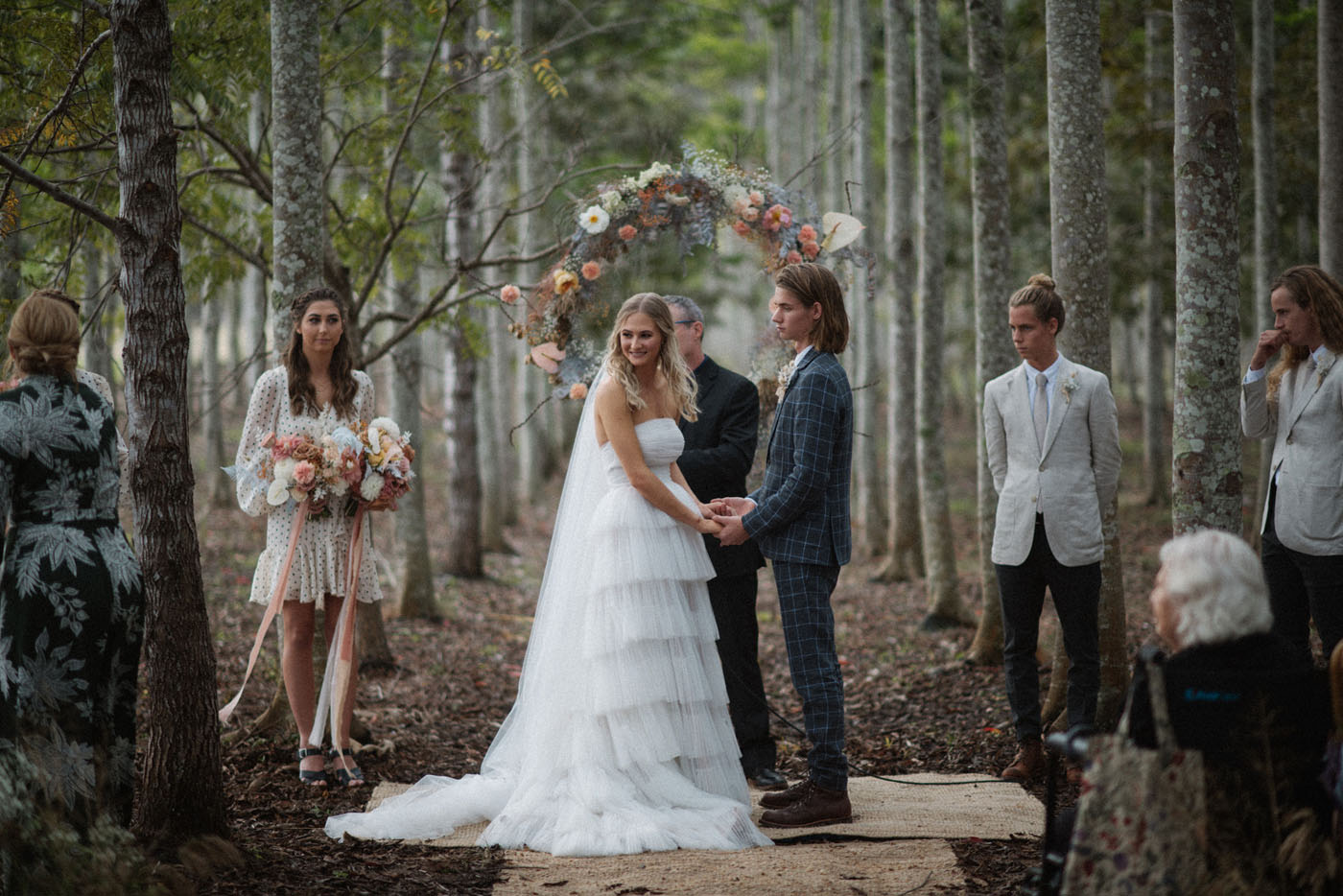 Australia forest wedding