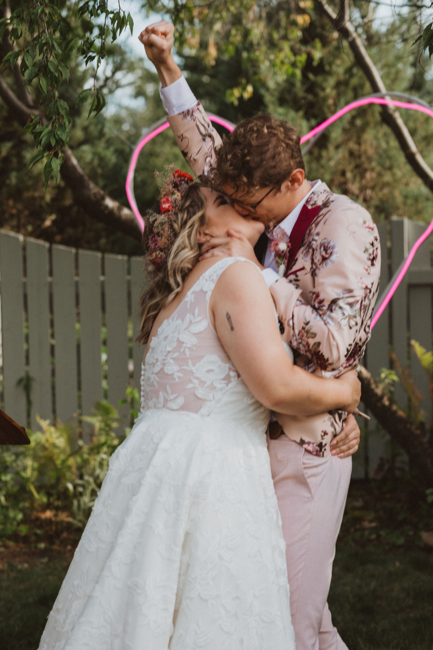 first kiss man wife