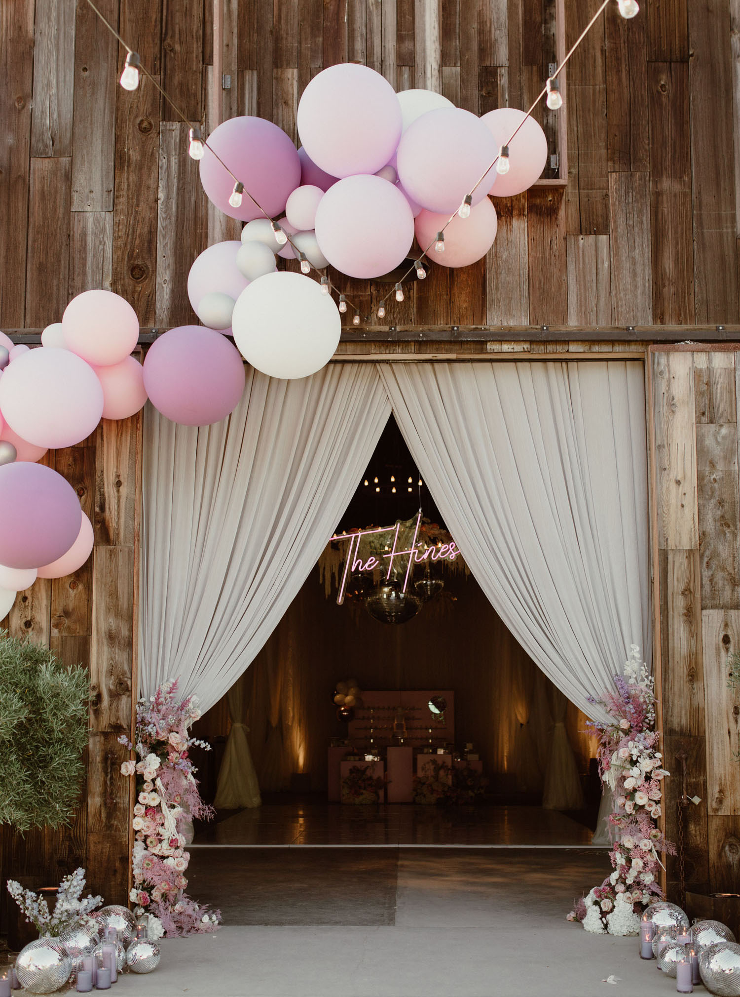 Modern Rustic Iridescent California Wedding