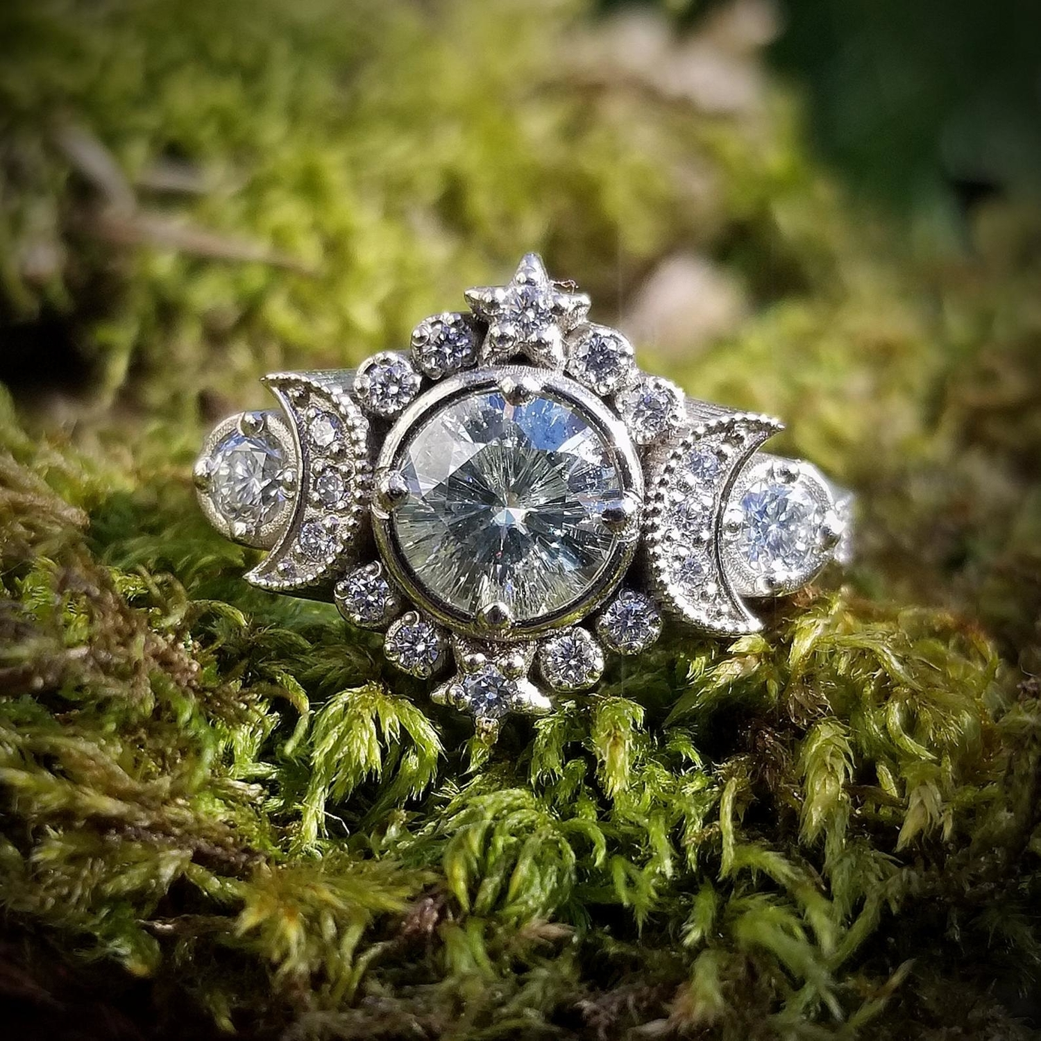 Unique Engagement Rings from Etsy