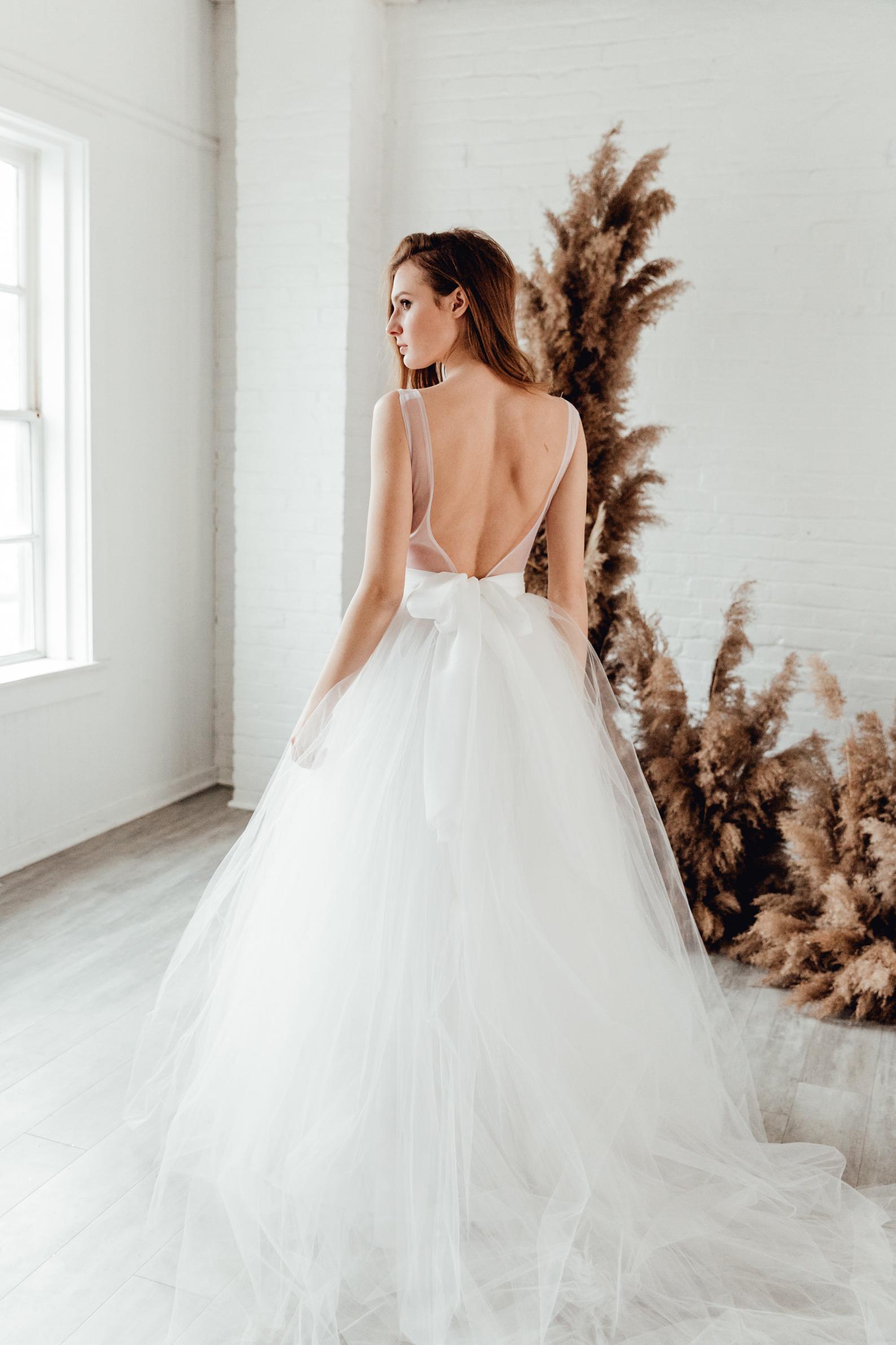 tulle bridal skirt