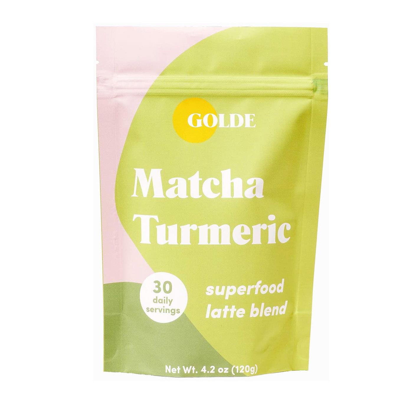 golde matcha turmeric latte