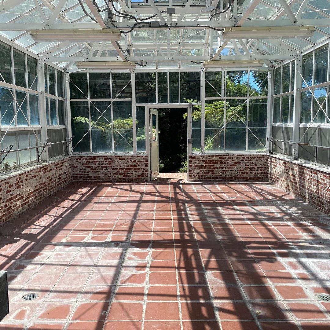 wedding greenhouse