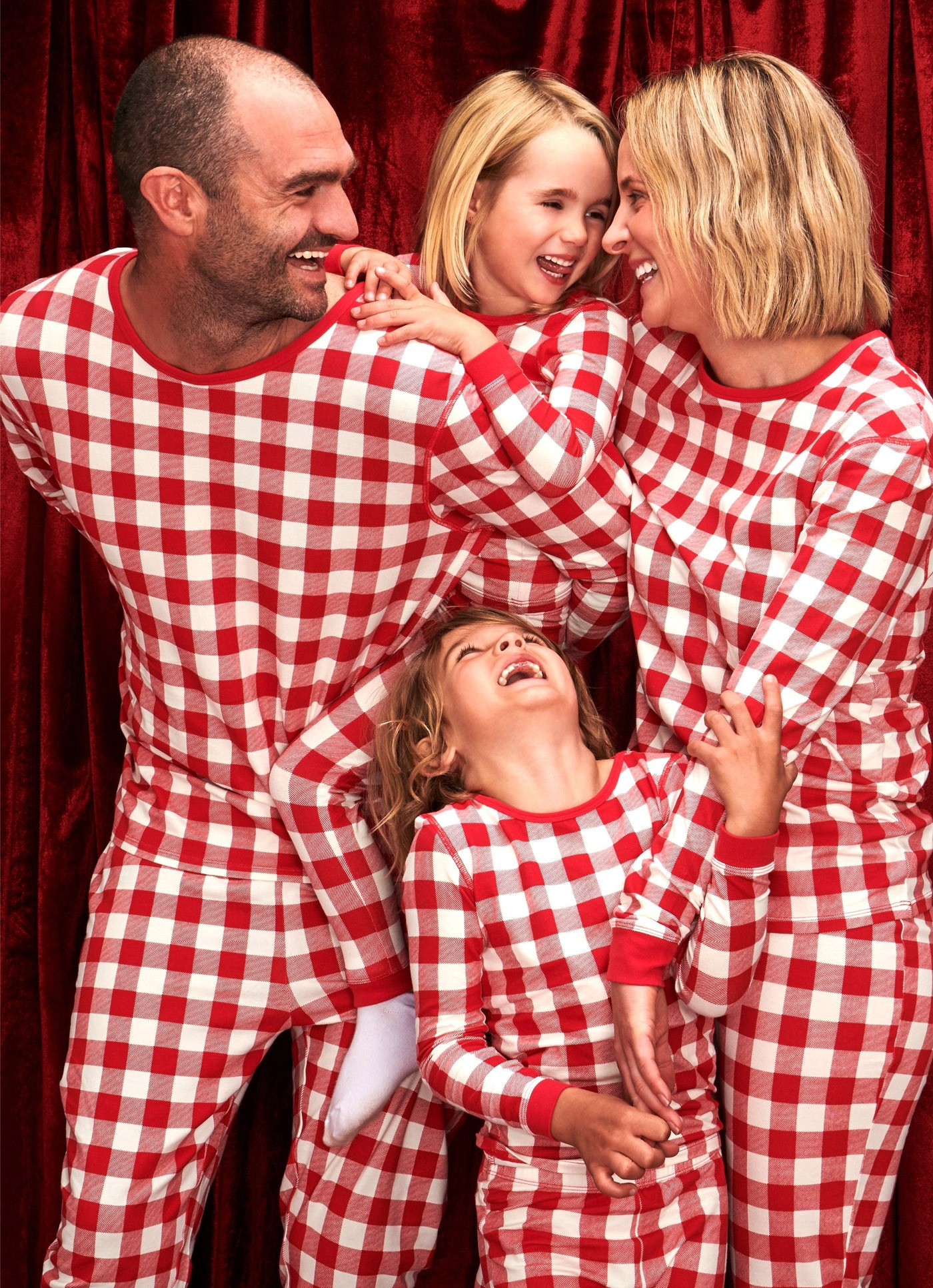 matching christmas family pjs