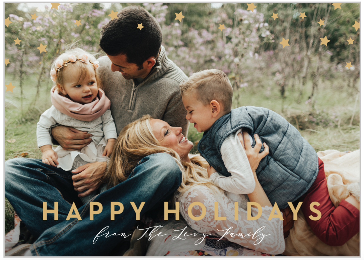 family holiday card outfits
